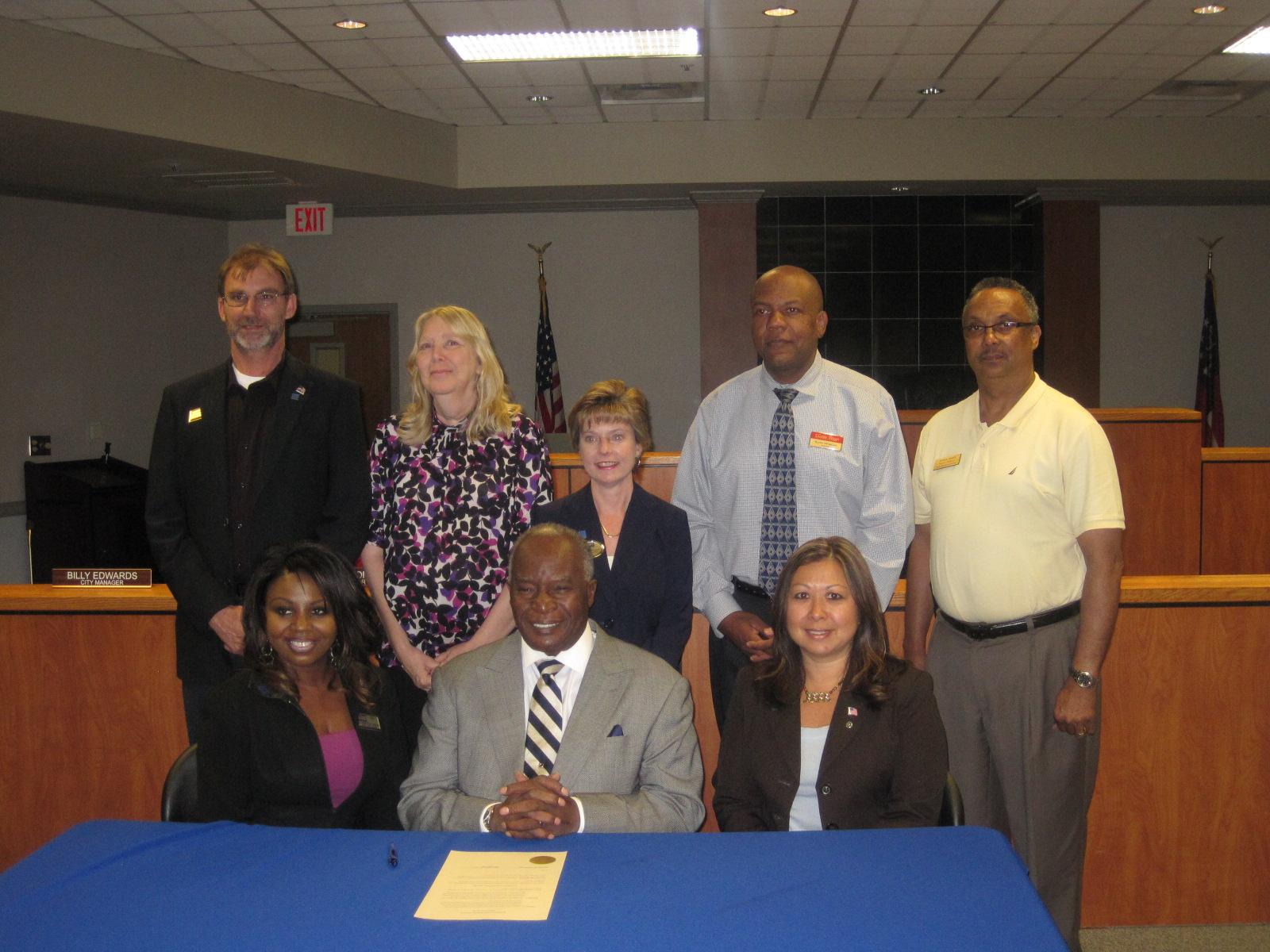 Mayor Thomas signs Real Estate Proclamation